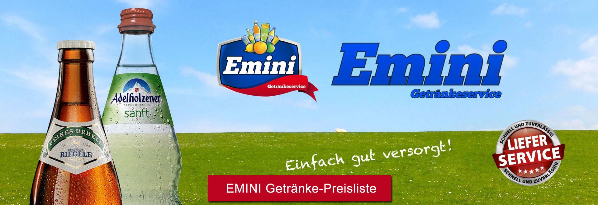 Getränkeservice Emini Augsburg