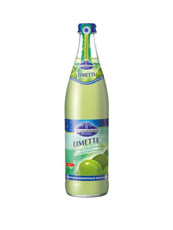 Brunnthaler Limonade Limette